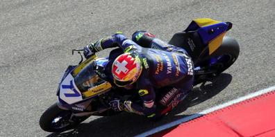 Dominique Aegerter hatte in Jerez sein Superbike am besten im Griff
