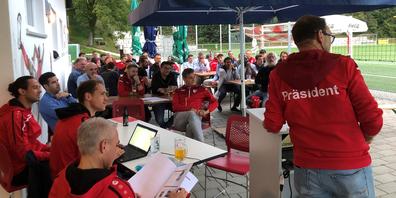 Die 75. Generalversammlung des FC Büsingen war vom Thema Corona geprägt.