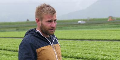 Florian Gasser vom Böschenhof in Au: «Das grosse Problem derzeit ist die Unbefahrbarkeit der Äcker»