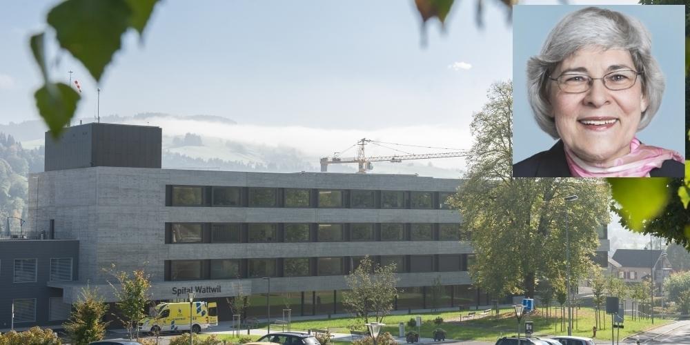 Es brauche die Solidarität aller Kantonsteile fürs Spital Wattwil, so die Uetliburger Kantonsrätin Eva B. Keller.
