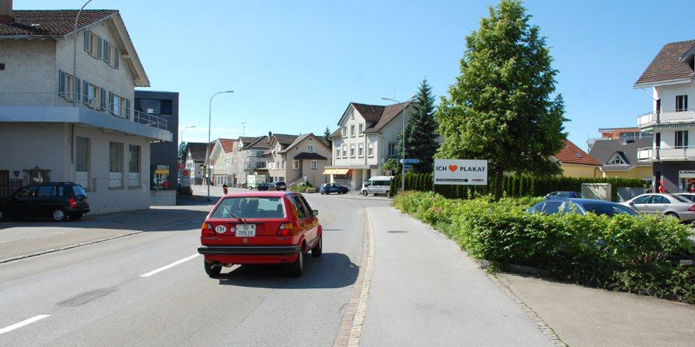 Hauptstrasse St.Margrethen (Symbolbild)