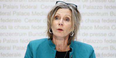 Maya Graf (Grüne/BL), Präsidentin der Geschäftsprüfungskommission des Ständerats (GPK-S). (Archivbild)