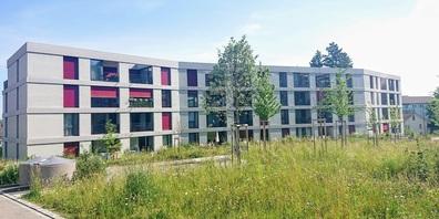"""Das Gebäude von """"Wohnen 60plus Uzwil"""" an der Fichtenstrasse."""