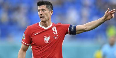Robert Lewandowskis Tore reichten den Polen nicht