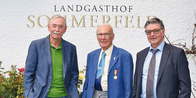 Hitsch Brosi, Piet Bösch und Andy Thöny.