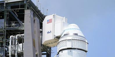 """Der nächste Testflug des """"Starliner"""" von Boeing zur Internationalen Raumstation ISS ist auf unbestimmte Zeit verschoben worden. (Archivbild)"""