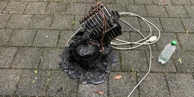 In Rüdlignen brannte ein Luftbefeuchter.