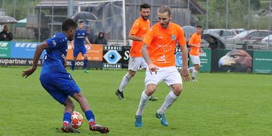 Für den FC Rüthi (blau) wie auch für den FC Diepoldsau (orange), die vor einigen Wochen in der Meisterschaft aufeinandertrafen, geht das Cup-Abenteuer weiter