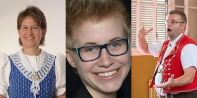 Annelies Huser-Amman, Katja Bürgler-Zimmermann, Hans-Jakob Scherrer.