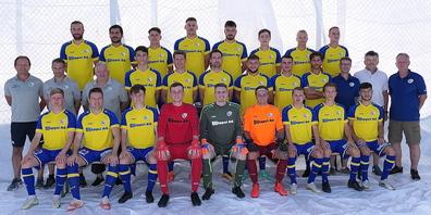 Die Mannschaft des FC Au-Berneck 05 2021/22