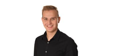 Lukas Huber ist Präsident der Jungen SVP Kanton St.Gallen.