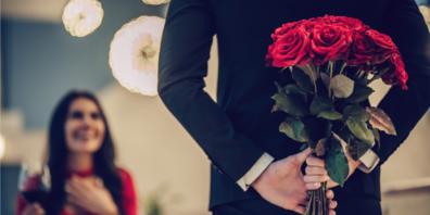 Valentinstag ist der Tag der roten Rosen (Bild: Shutterstock)