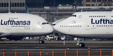 Lufthansa kann Verlust verringern (Archivbild)