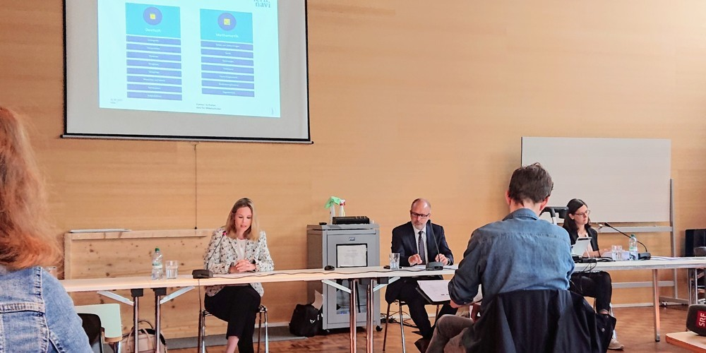 """Das neuentwickelte """"Lernnavi"""" wurde am 16. August 2021 an der Kantonsschule Wil vorgestellt."""