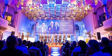 Der WTT Young Leader Award findet traditionell in der Tonhalle statt