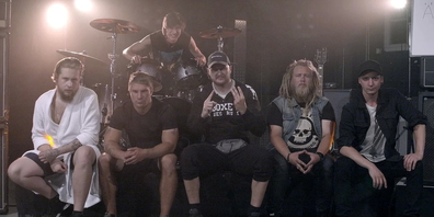 Die Rockband Illumenium. Um welches Bandmitglied es sich bei den St.Galler Zechpreller handelt, ist nicht bekannt.