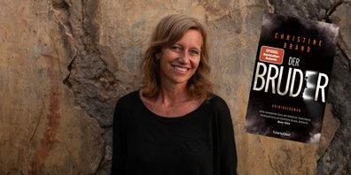 """Christine Brand liest in der Bibliothek Gossau ZH aus ihrem neuen Buch """"Der Bruder""""."""