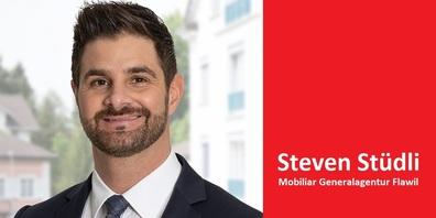Steven Stüdli,  Generalagent Mobiliar Flawil.