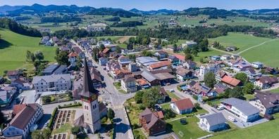 Ganterschwil (Luftaufnahme).