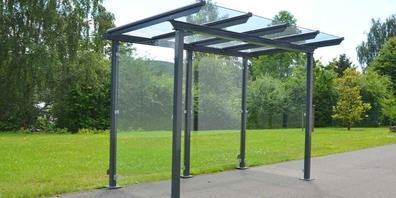 Die neue Haltestelle erhält Buswartehäuschen des Modells «Metropolis» von Noventis viscom AG, Baar.