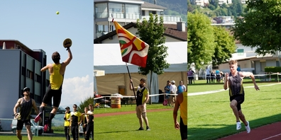Die Mitglieder des STV Eschenbach gaben alles beim Kleinturnfest in Ennetbürgen.