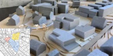 Im Zentrum von Gossau ZH soll eine neue Wohnüberbauung entstehen.