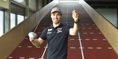 Max Heinzer ist bereit für eine Olympia-Medaille.