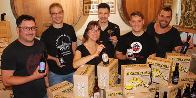 Sieben Kleinbrauereien aus der Region starten mit der Brauerei Falken ein Projekt.