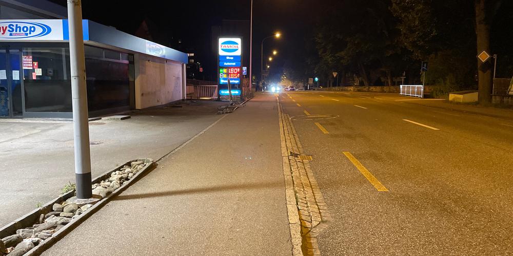 Unfallort: Fürstenlandstrasse