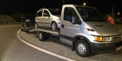Mit diesem Gefährt durfte der Serbe nicht weiterfahren
