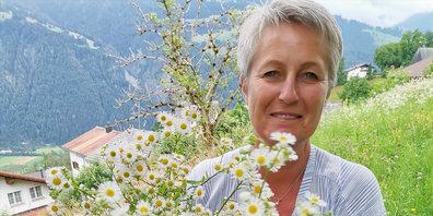 Floristin Sabine Gansner aus Seewis.