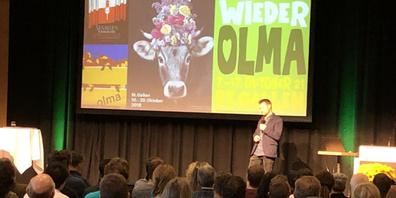 Das Forum fand am Montag, 11. Oktober 2021, in der Olma statt und wurde ein voller Erfolg.