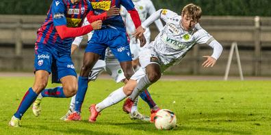 Alles was jetzt folgt ist Abstiegskampf: In Chiasso konnte Brühl mit viel Kampf und «Chrampf» immerhin ein 1:1 erzielen.