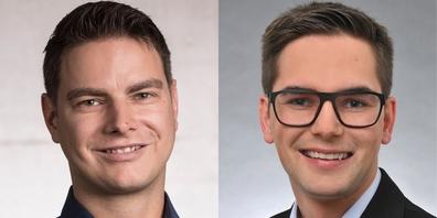 Reto Rutz und Lars Tönz