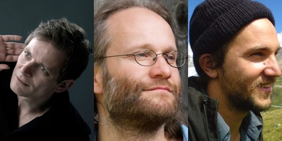 Christian Zehnder, Marcello Wick, Lukas Peter.