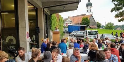 Bundesfeier 2021 in Niederbüren.