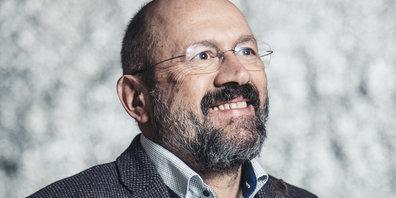 Der Stellvertreter der Landessprecherin der Grünen im Ländle: Bernie Weber, bei vielen bekannt als früherer Leadsänger der Rockgruppe «Twist of fate»
