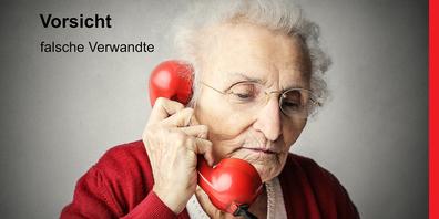 Gehen Sie am Telefon nie auf eine Geldforderung ein.