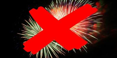 Bei Feuerwerk ist Vorsicht geboten.