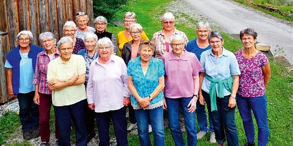 Die Frauen der Senioren-Tanzgruppe Schiers freuen sich darauf, schon bald wieder einmal miteinander tanzen zu dürfen.