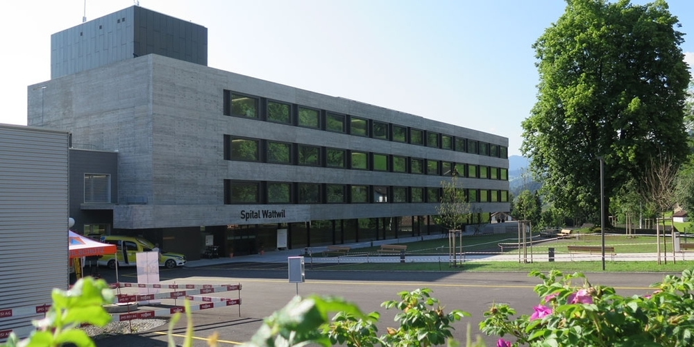 Am Dienstag wurde bekannt, dass sich die Solviva mit ihrem Projekt für das Spital Wattwil zurückziehen wird. Laut Wattwil steht aber bereits eine Alternativlösung bereit (Archivbild)