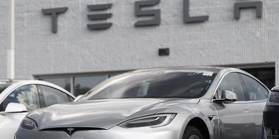 Der US-Autovermieter Hertz rüstet seine Fahrzeugflotte mit Tesla-Modellen auf. Insgesamt hat Hertz 100'000 Tesla bestellt.(Archivbild)