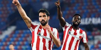 Raul Garcia und Inaki Williams von Athletic Bilbao