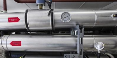Wärmepumpen sollen gefördert werden: Der Kanton Zürich will das Baubewilligungsverfahren durch ein Meldeverfahren ersetzen. (Symbolbild)