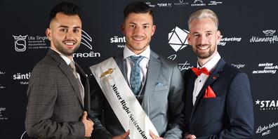 Die drei Sieger: Berkant Oezpay (l.), Gabriele Cacioppo und Philipp Ziltener