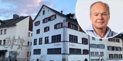 Haus «Zum Pfauen» in Rappis Altstadt: Entweder sind die Polen unanständig oder Ortsbürger und Stadtrat haben mit der Museumskündigung im Schloss geschlampt.