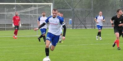Auch Stürmer Nurkan Ibrahimi fehlt dem FC St.Margrethen beim Heimspiel gegen Herisau