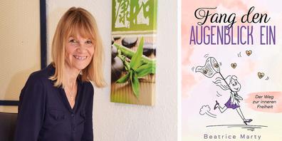 Mit ihrem Buch «Fang den Augenblick ein» zeigt Beatrice Marty Möglichkeiten auf, wie man sich dank Fokussierung auf seine eigene Energie aus der «Schockstarre» löst und wie dies auch in anderen Krisen helfen kann. (Bild: Andreas Knobel)