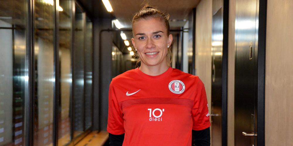 Leistungsträgerin: Chiara Kehl ist bei den FCRJ-Frauen eine der Routiniers und Schlüsselspielerinnen zugleich.