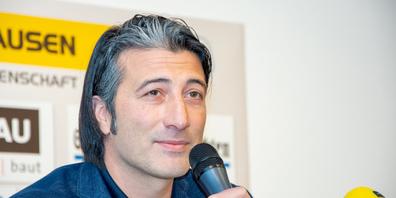 Seinen ersten Vertrag mit dem FC Schaffhausen unterschrieb Trainer Murat Yakin vor vier Jahren.